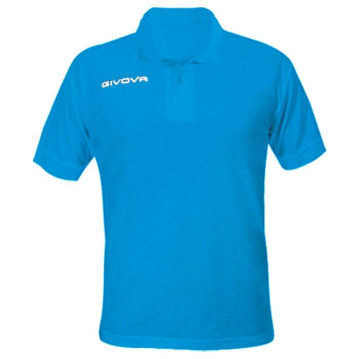 Givova Summer Polo Shirt Sky