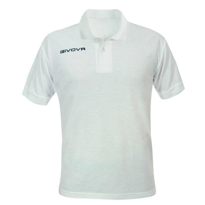 Givova Summer Polo Shirt White