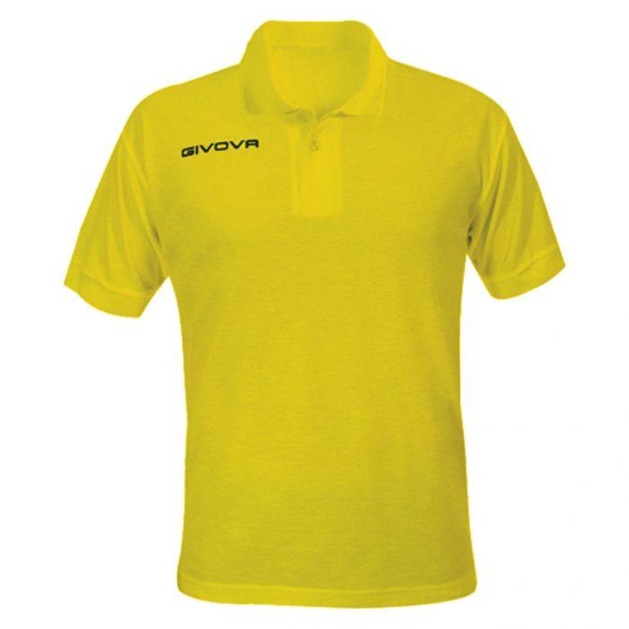 Givova Summer Polo Shirt Yellow