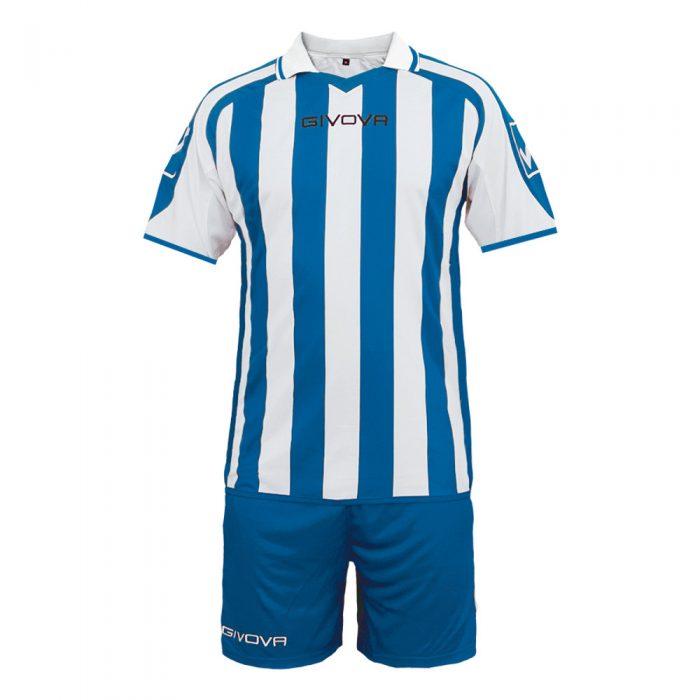 Givova Supporter Football Kit Blue White