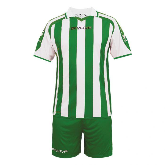 Givova Supporter Football Kit White Green