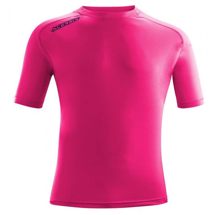 Acerbis Atlantis Training Short Sleeve Shirt Fuscia Fluo