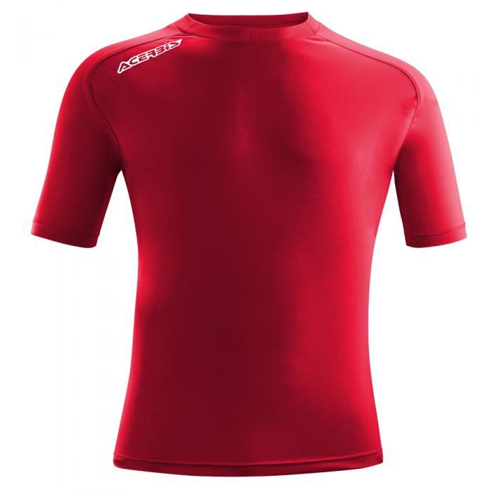Acerbis Atlantis Training Short Sleeve Shirt Maroon