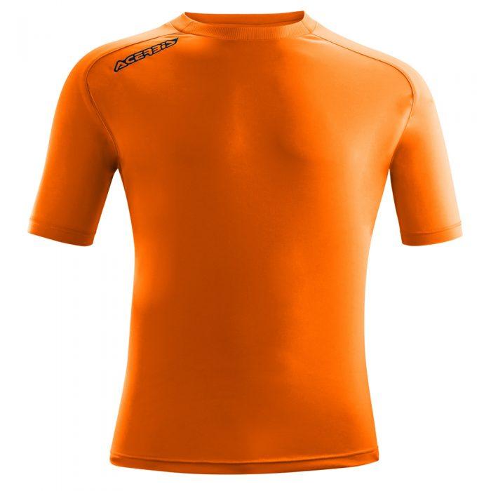 Acerbis Atlantis Training Short Sleeve Shirt Orange