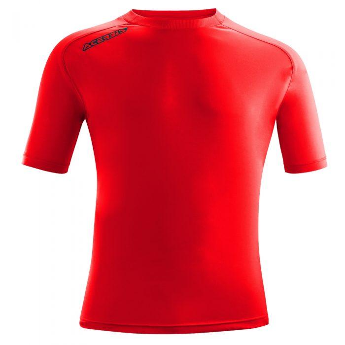 Acerbis Atlantis Training Short Sleeve Shirt Red