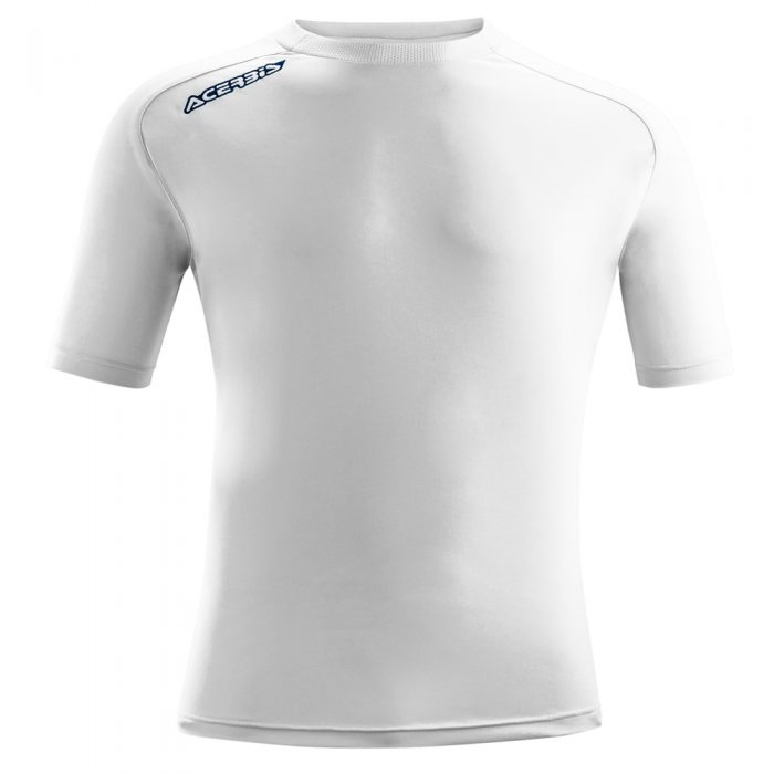 Acerbis Atlantis Training Short Sleeve Shirt White