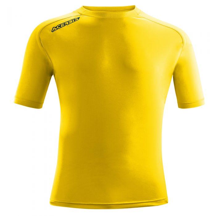 Acerbis Atlantis Training Short Sleeve Shirt Yellow
