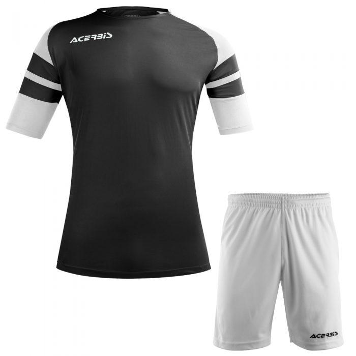 Acerbis Kemari Football Kit Black White