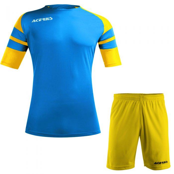 Acerbis Kemari Football Kit Blue Yellow