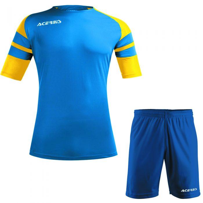 Acerbis Kemari Football Kit Blue Yellow White