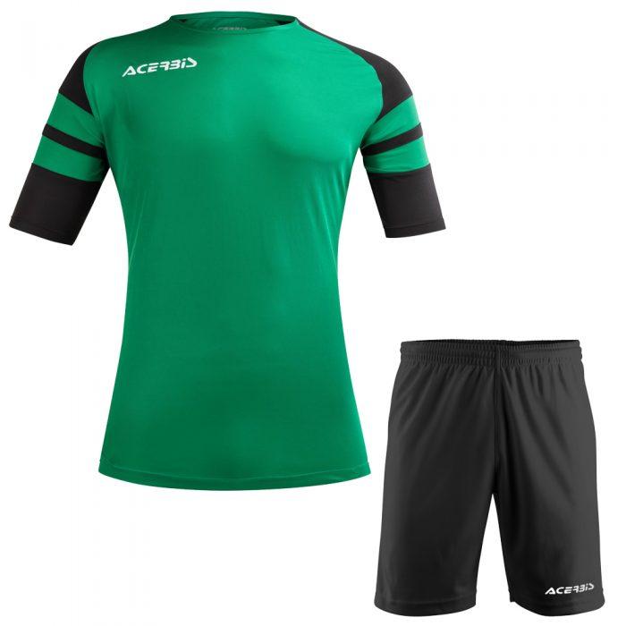 Acerbis Kemari Football Kit Green Black