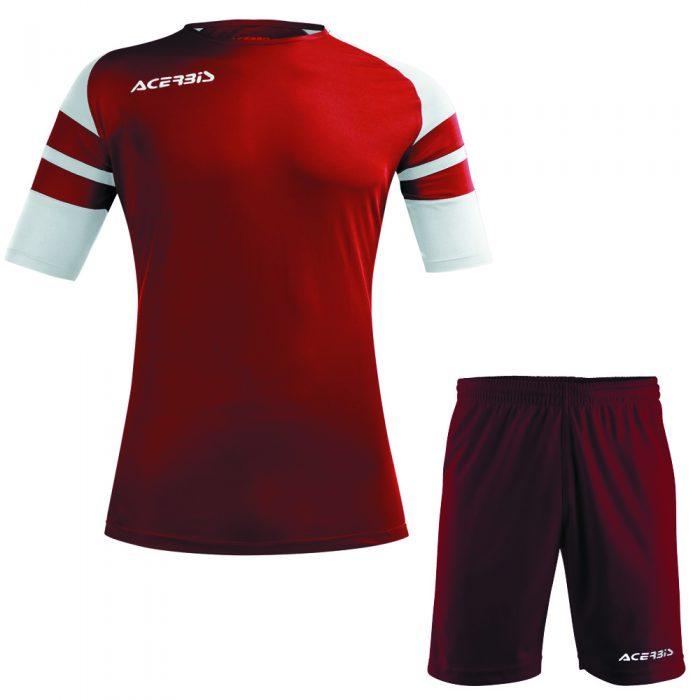 Acerbis Kemari Football Kit Maroon White