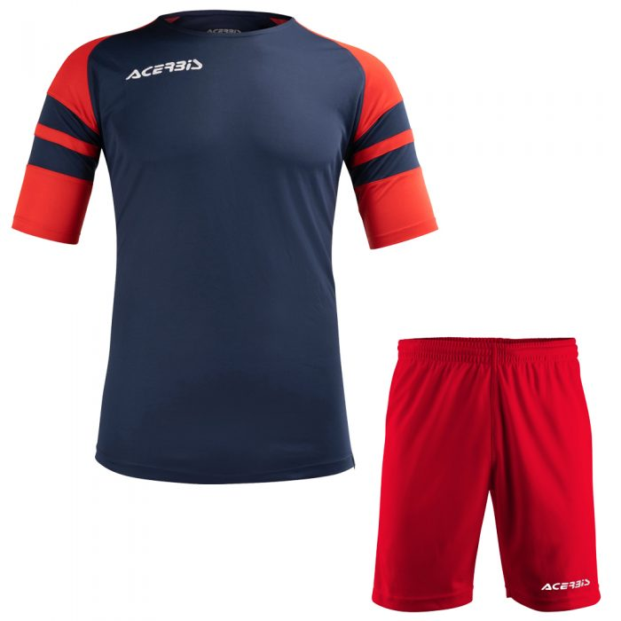 Acerbis Kemari Football Kit Navy Red