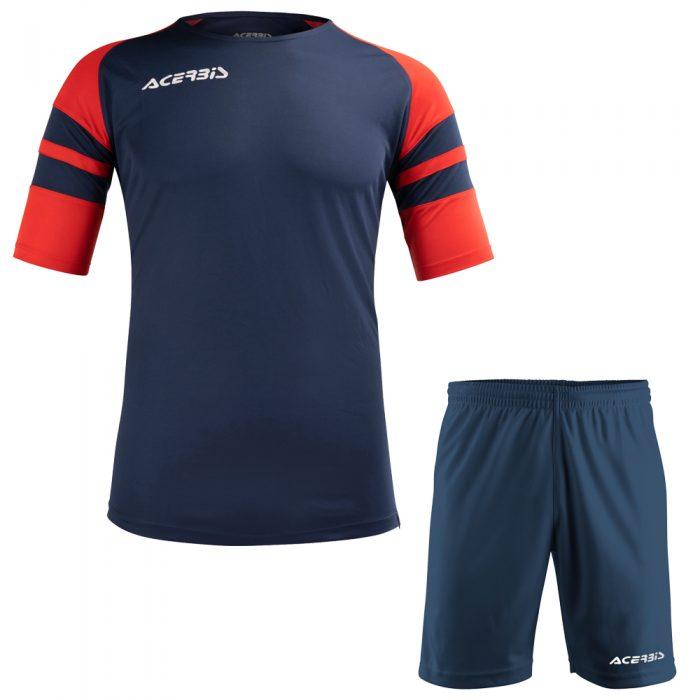 Acerbis Kemari Football Kit Navy Red White
