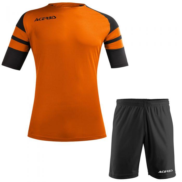 Acerbis Kemari Football Kit Orange Black