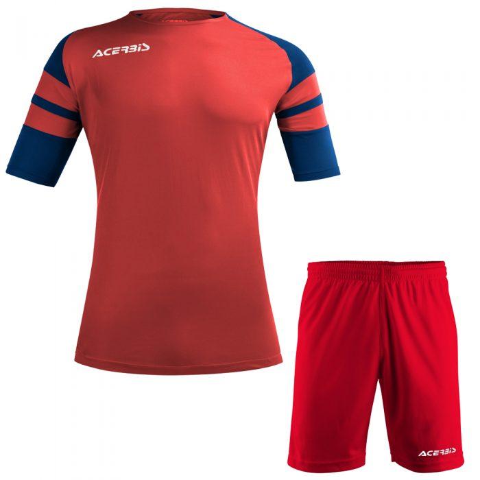 Acerbis Kemari Football Kit Red Navy White