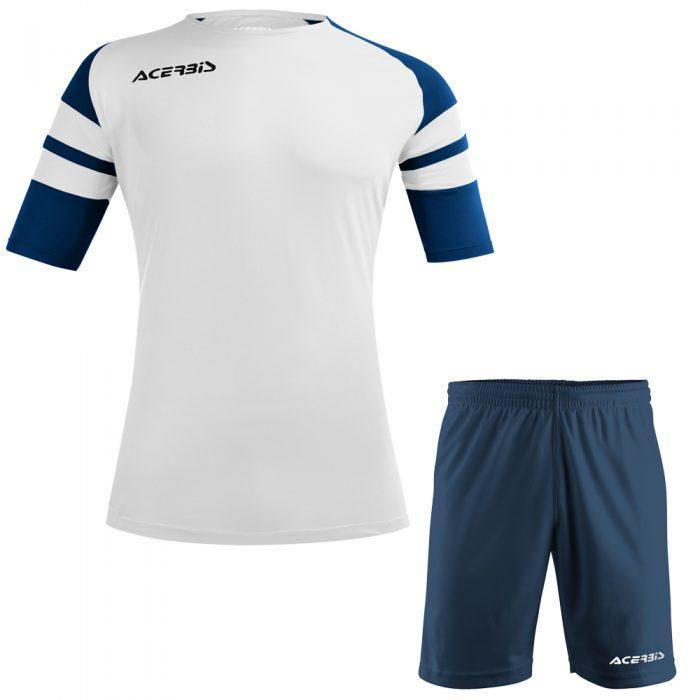 Acerbis Kemari Football Kit White Navy Black