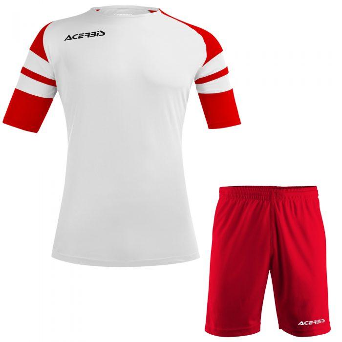 Acerbis Kemari Football Kit White Red