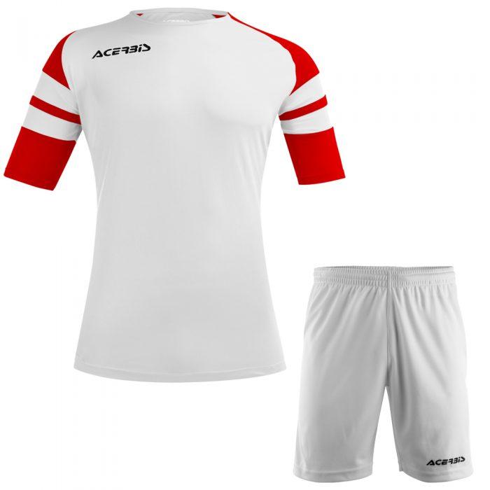 Acerbis Kemari Football Kit White Red Black
