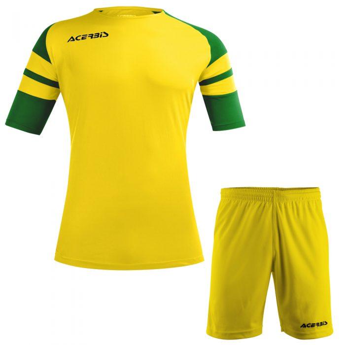 Acerbis Kemari Football Kit Yellow Green Black