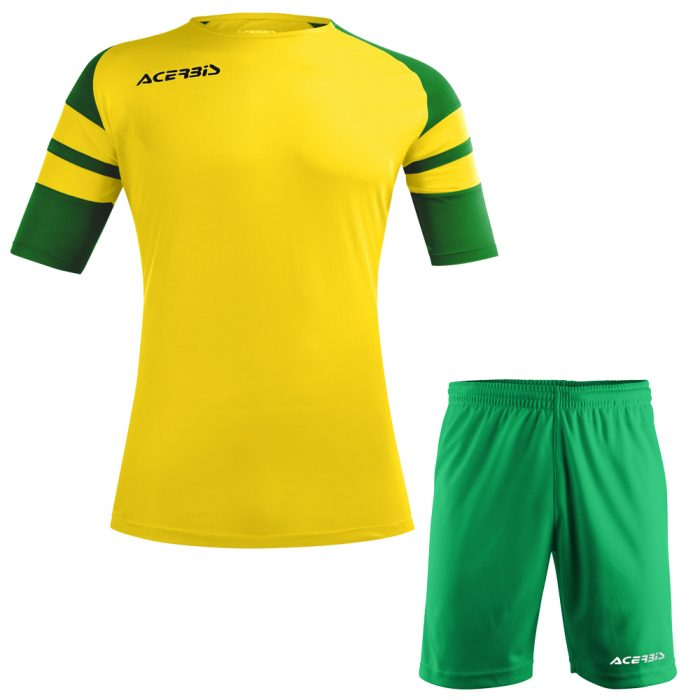 Acerbis Kemari Football Kit Yellow Green White