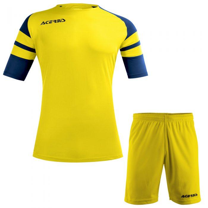 Acerbis Kemari Football Kit Yellow Navy Black