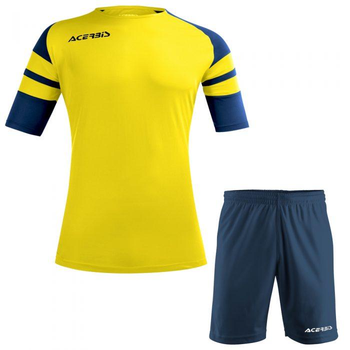 Acerbis Kemari Football Kit Yellow Navy White