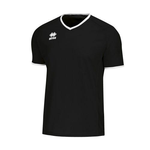 Errea Lennox Short Sleeve Shirt Black