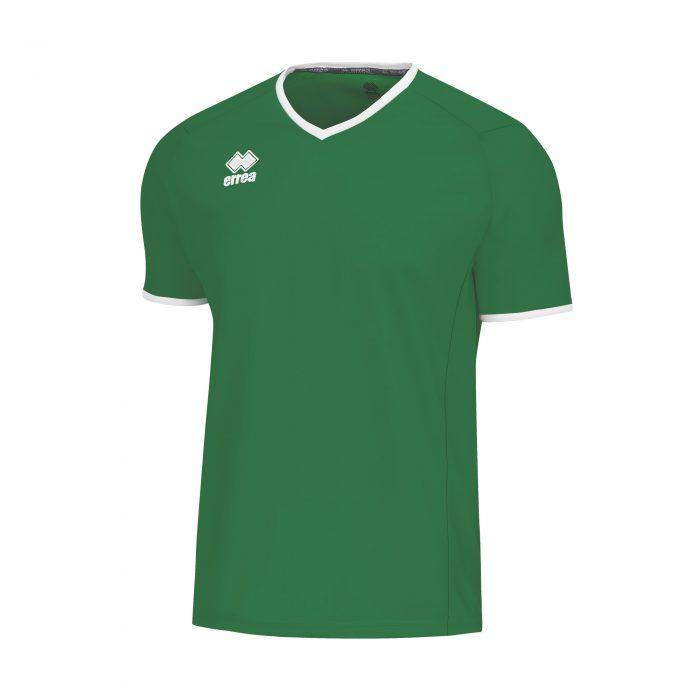 Errea Lennox Short Sleeve Shirt Green