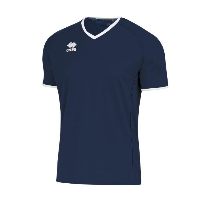 Errea Lennox Short Sleeve Shirt Navy White