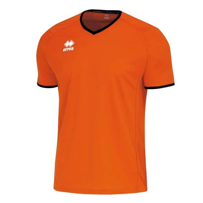 Errea Lennox Short Sleeve Shirt Orange