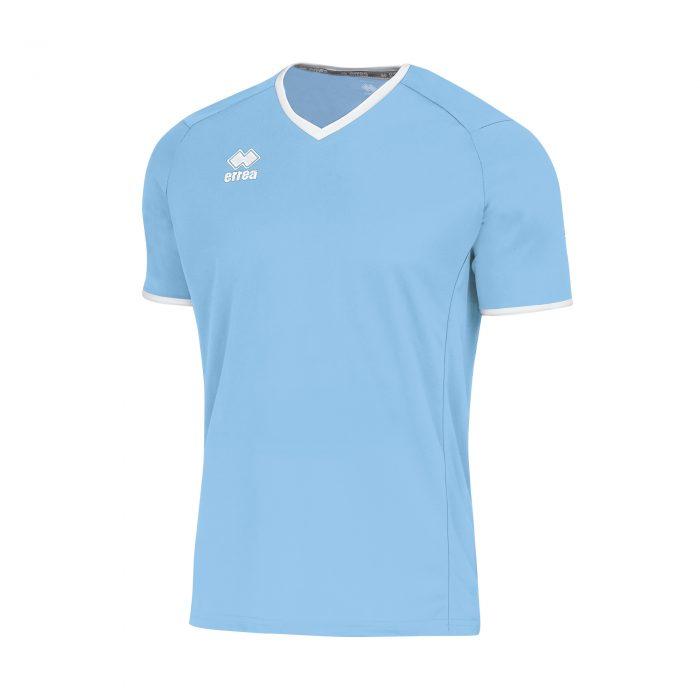 Errea Lennox Short Sleeve Shirt Sky