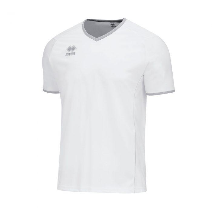 Errea Lennox Short Sleeve Shirt White