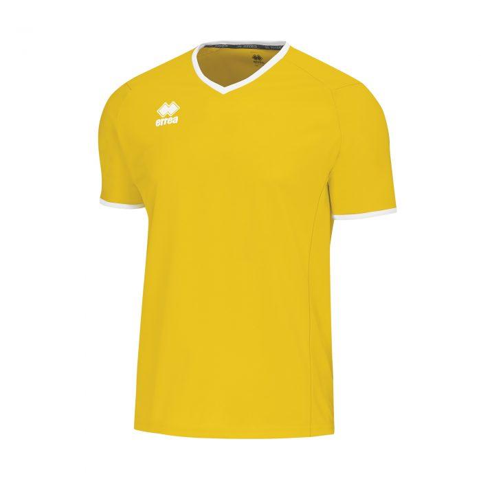 Errea Lennox Short Sleeve Shirt Yellow
