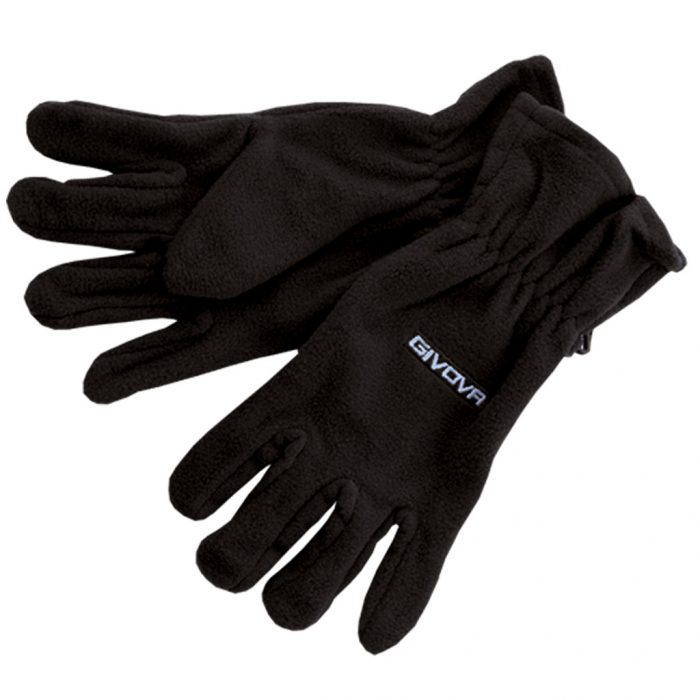 Givova Pile Gloves Black