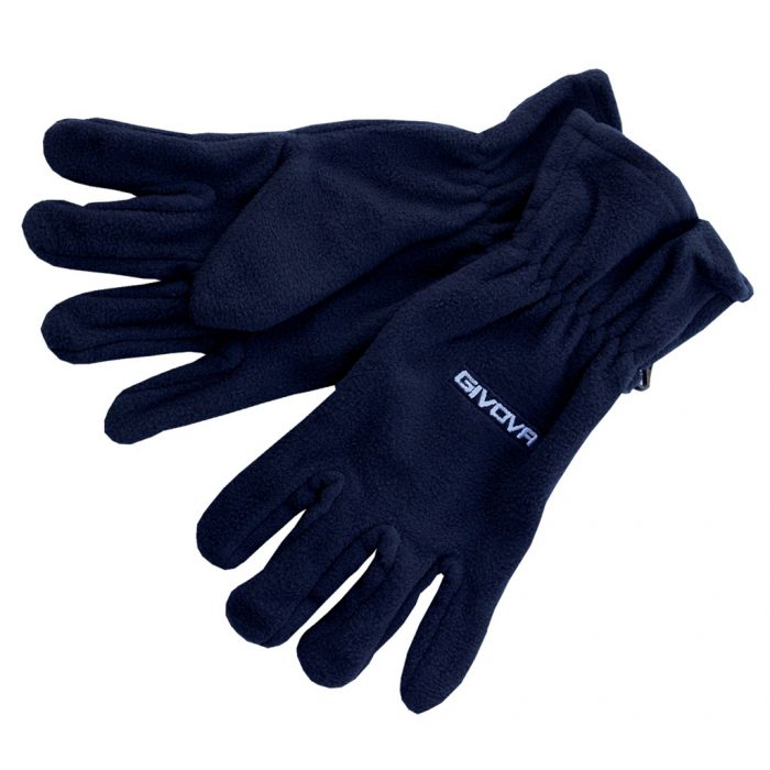 Givova Pile Gloves Navy