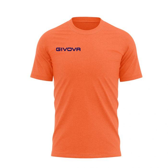 Givova T Shirt Fresh Orange Fluo