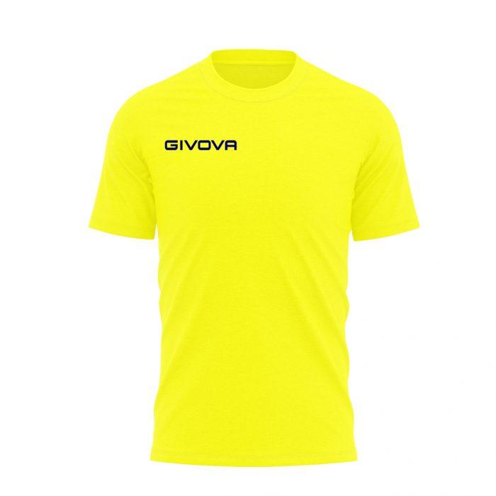 Givova T Shirt Fresh Yellow