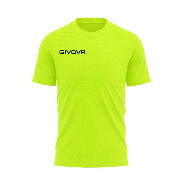 Givova T Shirt Fresh Yellow Fluo