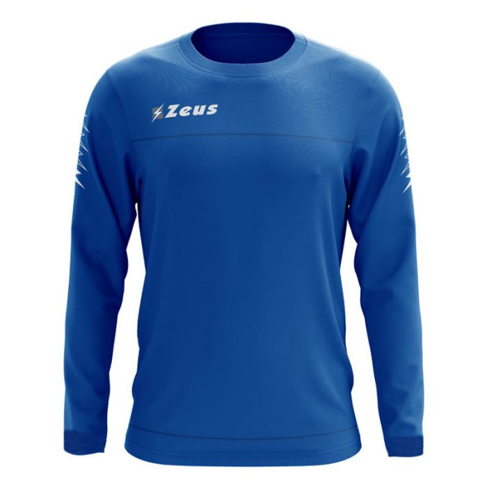Zeus Enea Training Sweatshirt Blue Grey
