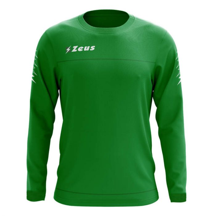 Zeus Enea Training Sweatshirt Green Grey