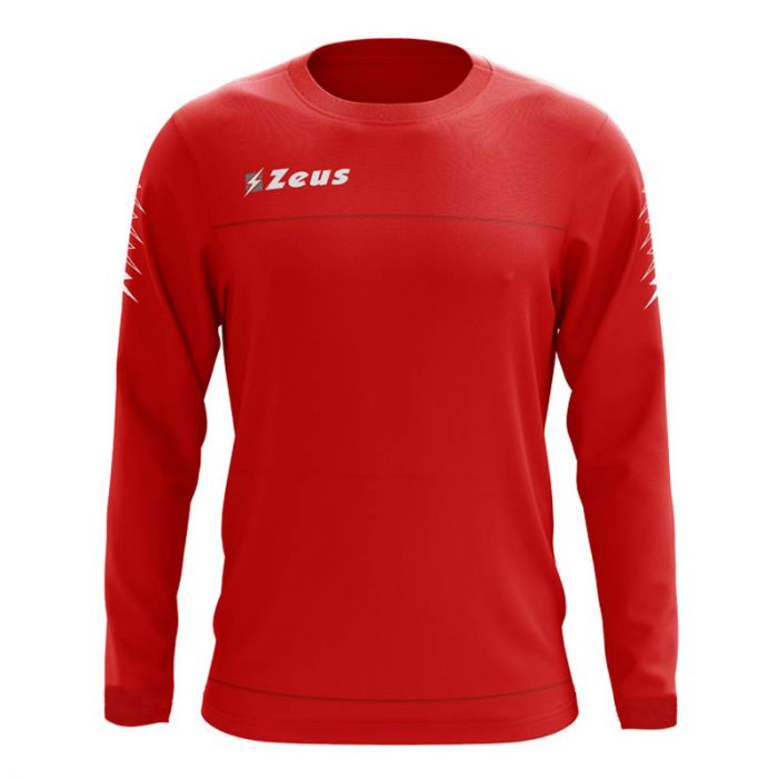 Zeus Enea Training Sweatshirt Red Grey