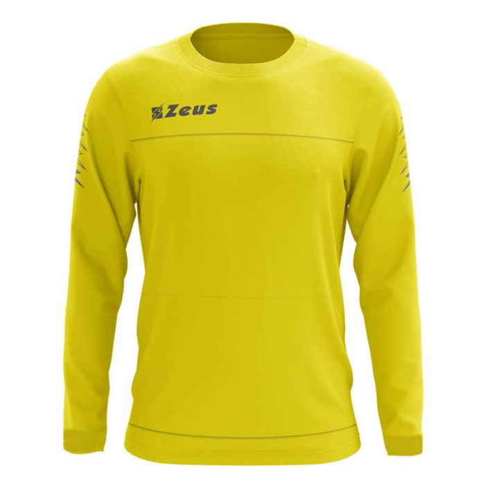 Zeus Enea Training Sweatshirt Yellow Grey