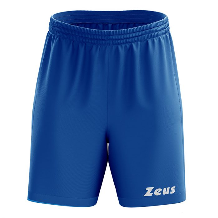 Zeus Mida Football Shorts Blue
