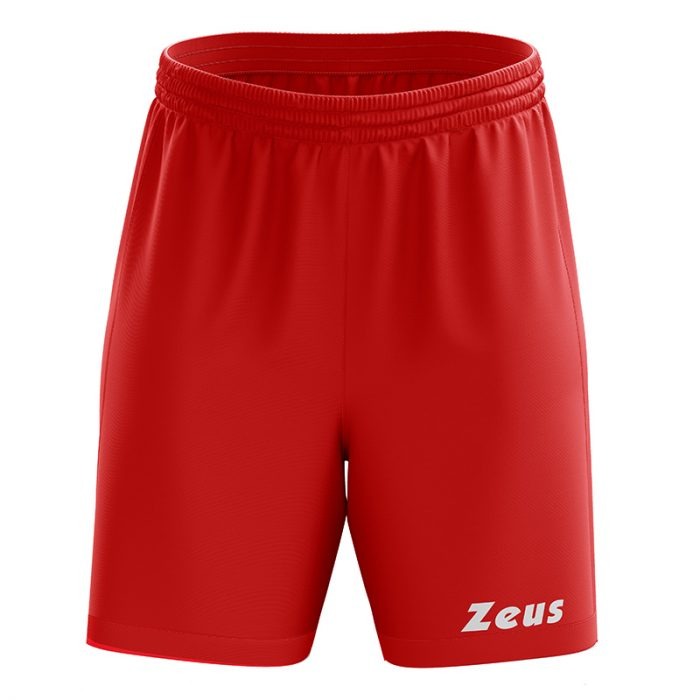 Zeus Mida Football Shorts Red