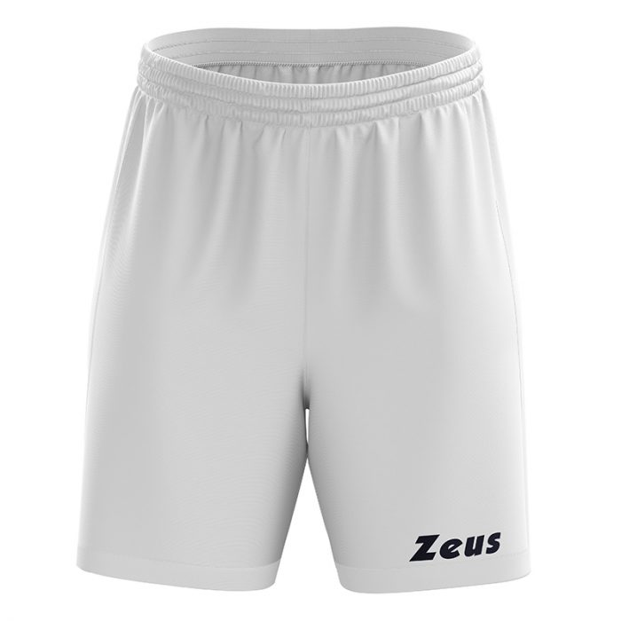 Zeus Mida Football Shorts White