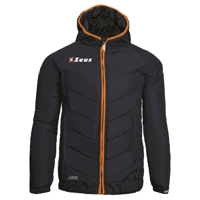 Zeus Ulysse Jacket Black Orange Fluo